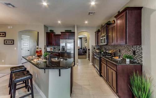 Kitchen-in-DH 4019-at-Gateway Estates-in-El Paso