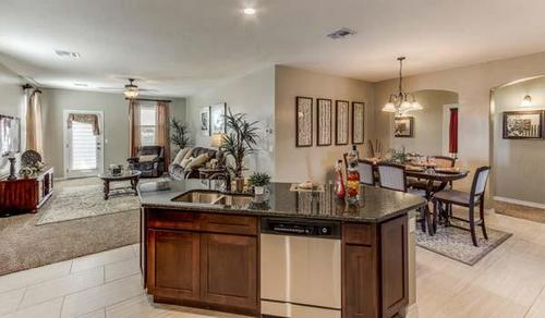 Greatroom-and-Dining-in-DH 4019-at-Gateway Estates-in-El Paso