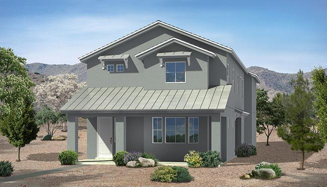 Exterior featured in the Triumph Plan II #2626 By Carefree Homes Utah in St. George, UT