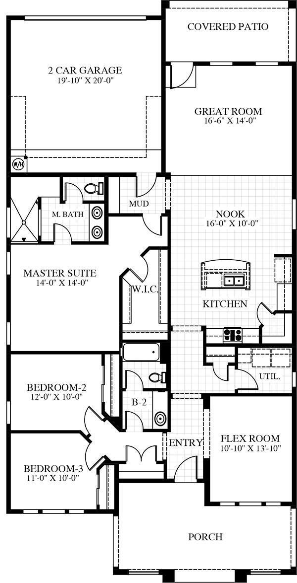 Carefree Homes Utah Floor Plans & Models St. George ...