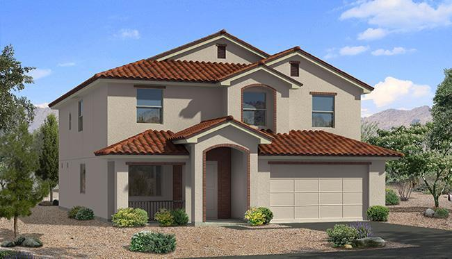 Exterior featured in the Hyland By Carefree Homes Utah in St. George, UT