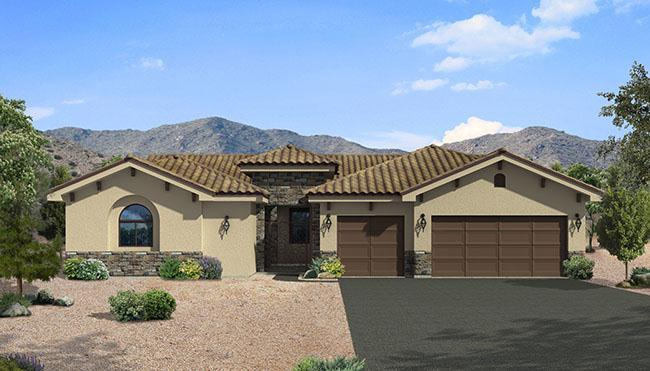 Exterior featured in the Serenity II By Carefree Homes Utah in St. George, UT
