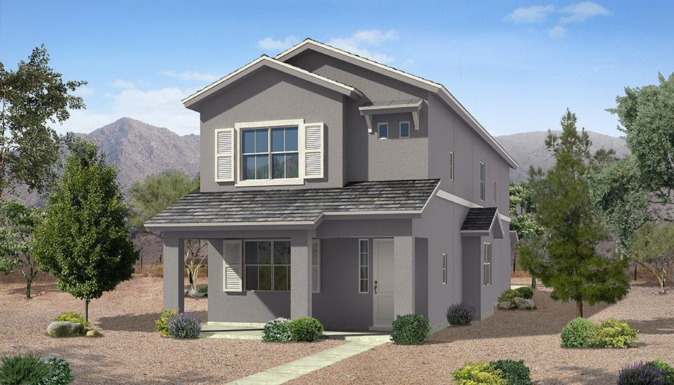 Exterior featured in the Horizon Plan #2240 By Carefree Homes Utah in St. George, UT