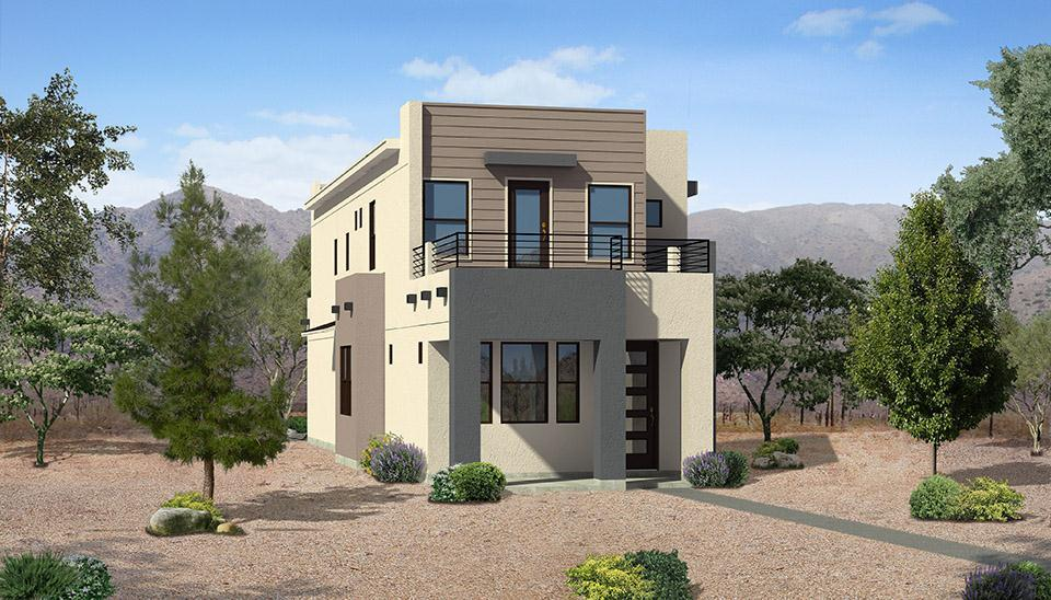 Exterior featured in the Spirit Plan #2231 By Carefree Homes Utah in St. George, UT