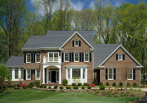 The Oakton:Shown with optional Side Conservatory and Bay Window (Elev 2 &4).