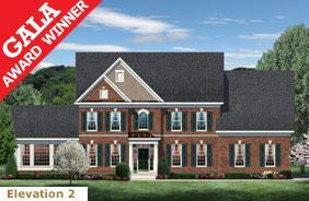 Exterior featured in The Lancaster By CarrHomes in Washington, VA