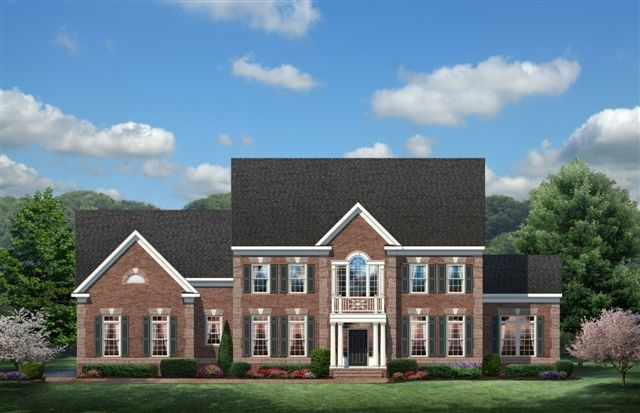 Exterior featured in The Augusta By CarrHomes in Washington, VA
