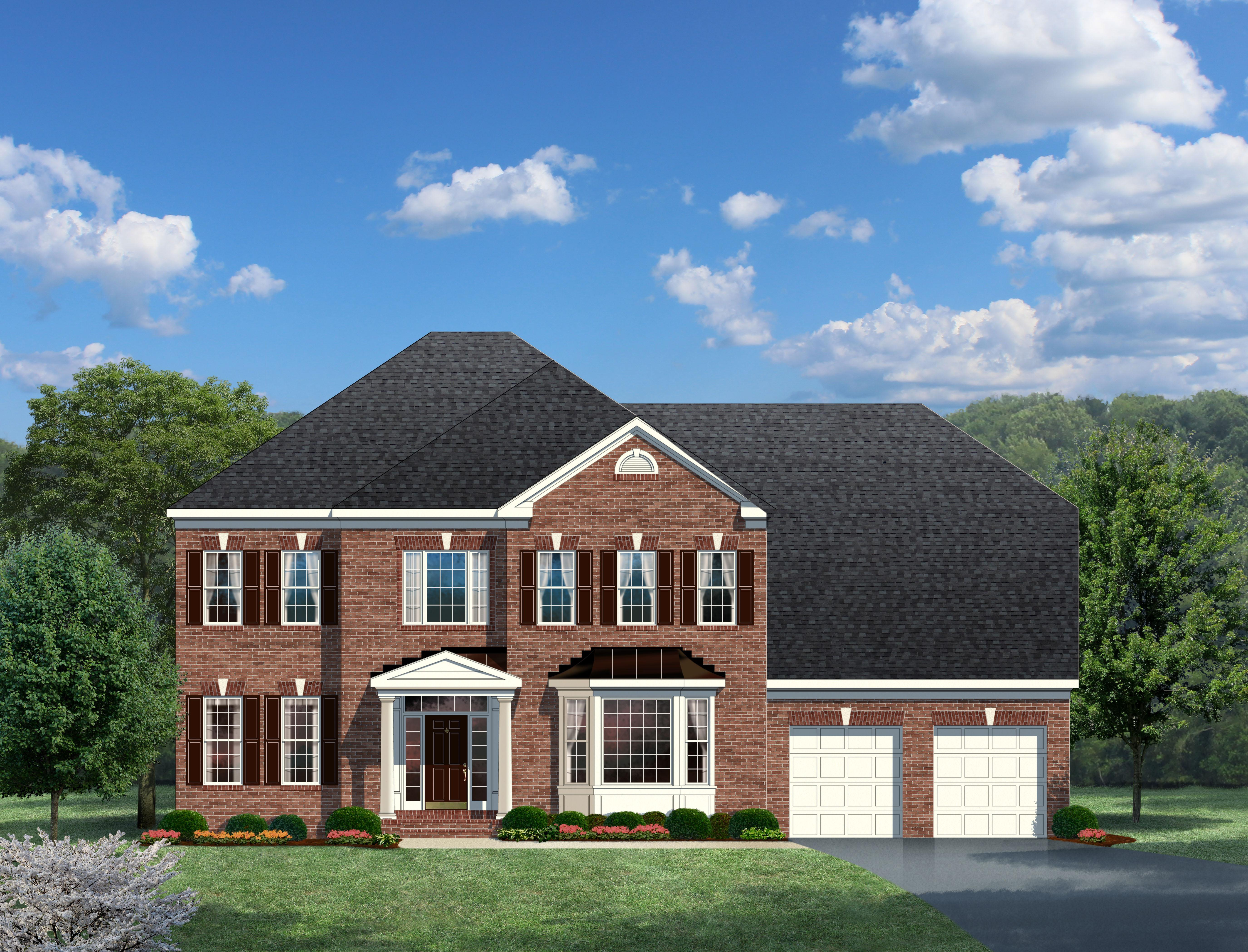 Exterior featured in The Oakton  By CarrHomes in Washington, VA