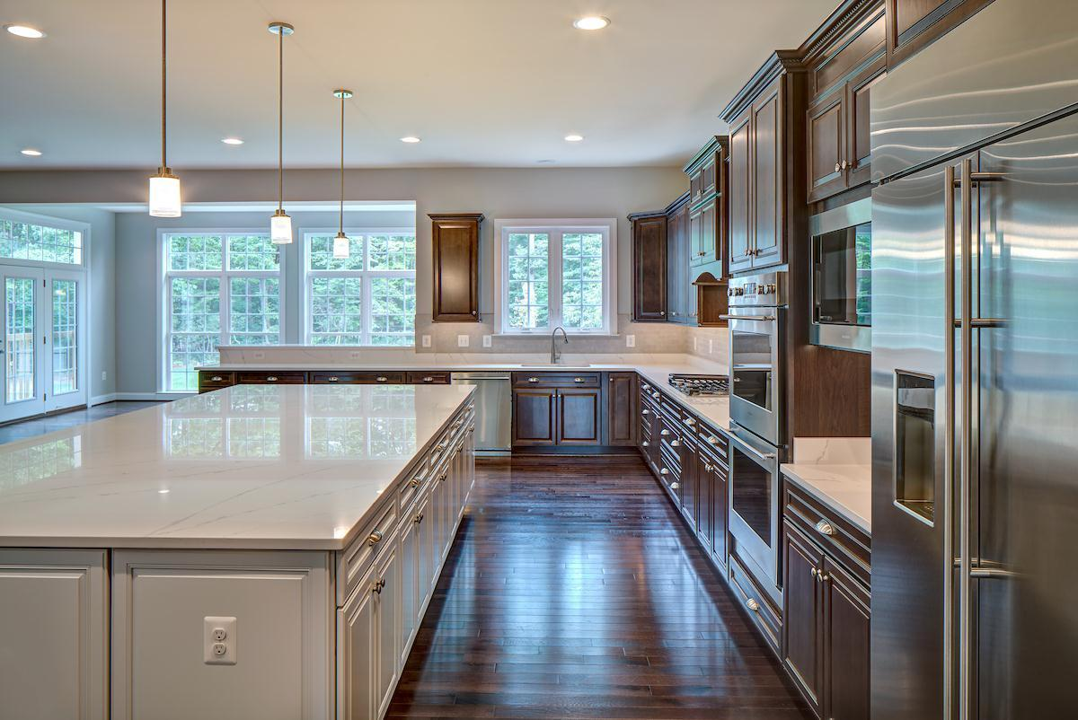 Kitchen featured in The Clifton By CarrHomes in Washington, VA