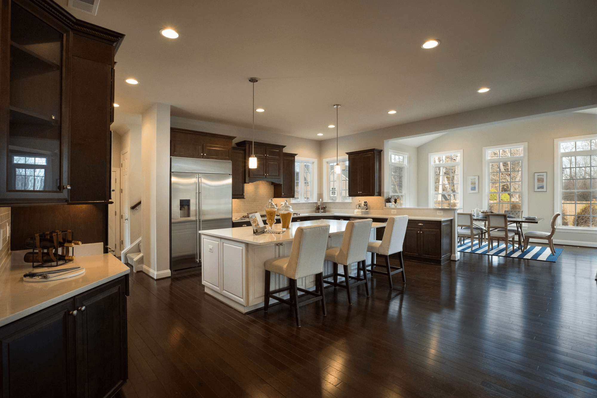 Kitchen featured in The Augusta By CarrHomes in Washington, VA