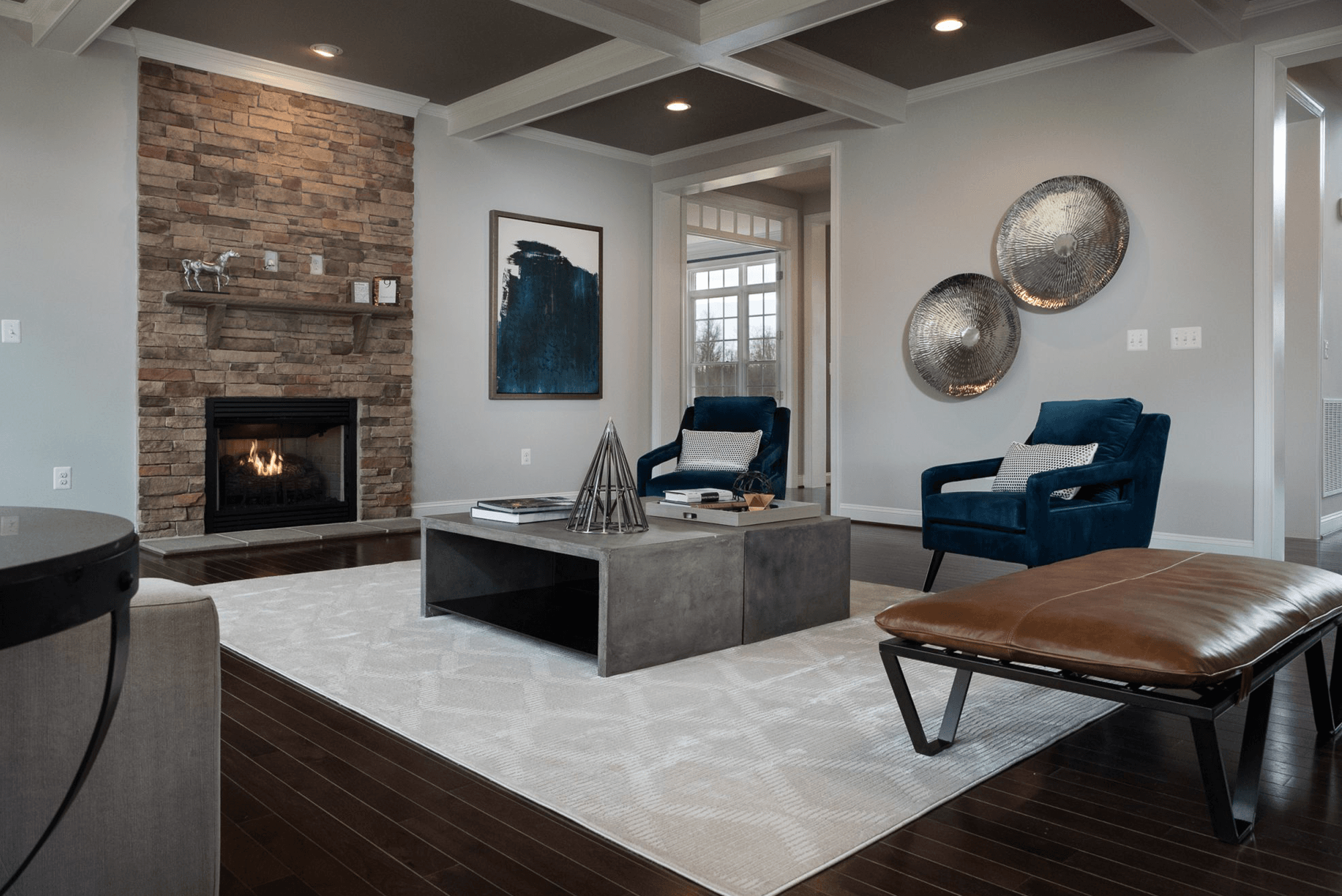 Living Area featured in The Augusta By CarrHomes in Washington, VA