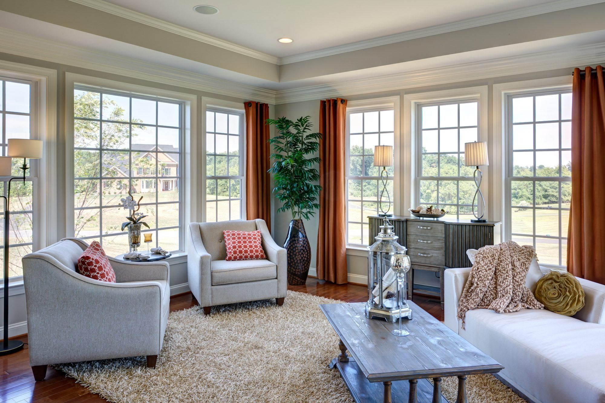 Living Area featured in The Lancaster By CarrHomes in Washington, VA