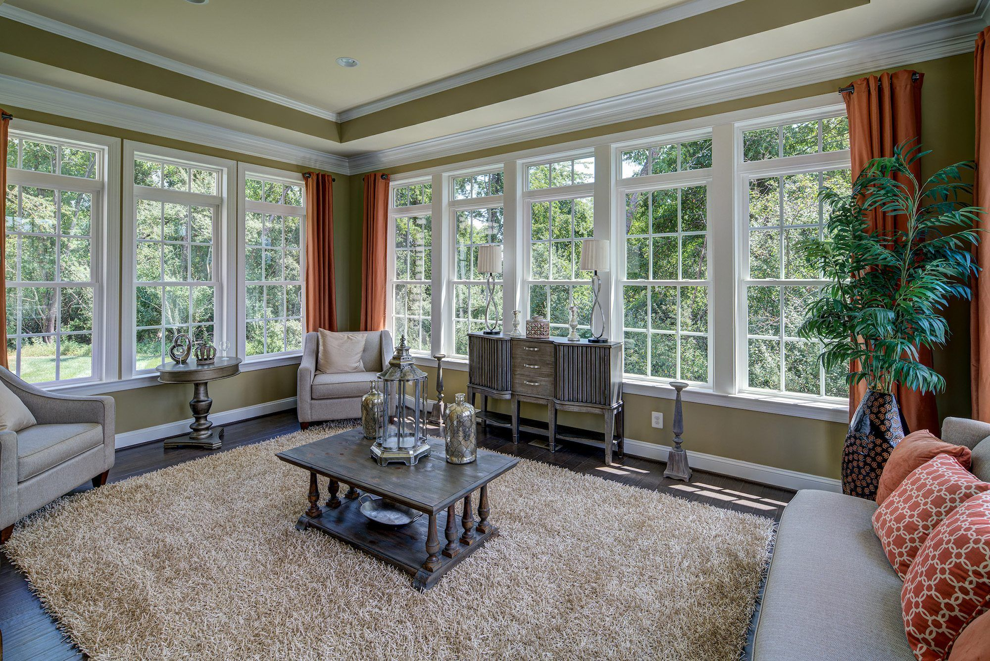 Living Area featured in The Oakton  By CarrHomes in Washington, VA