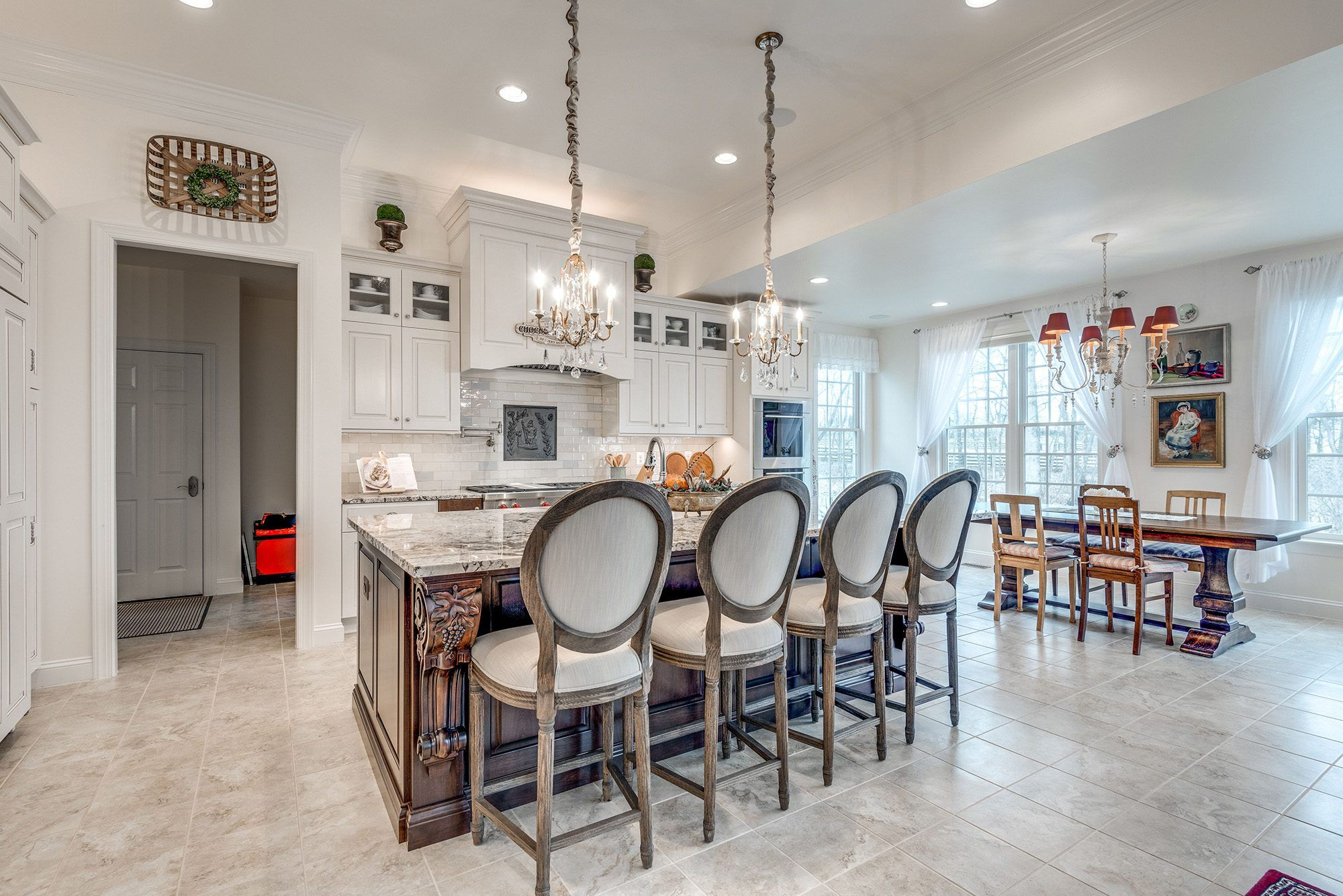 Kitchen featured in The Oakton  By CarrHomes in Washington, VA