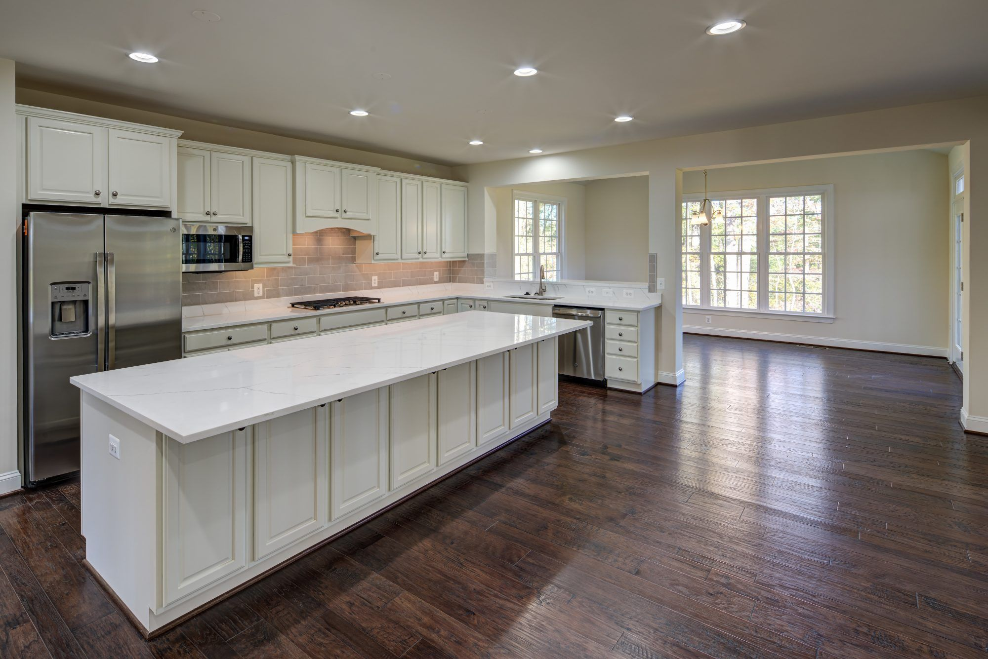 Kitchen featured in The Pinehurst By CarrHomes in Washington, VA