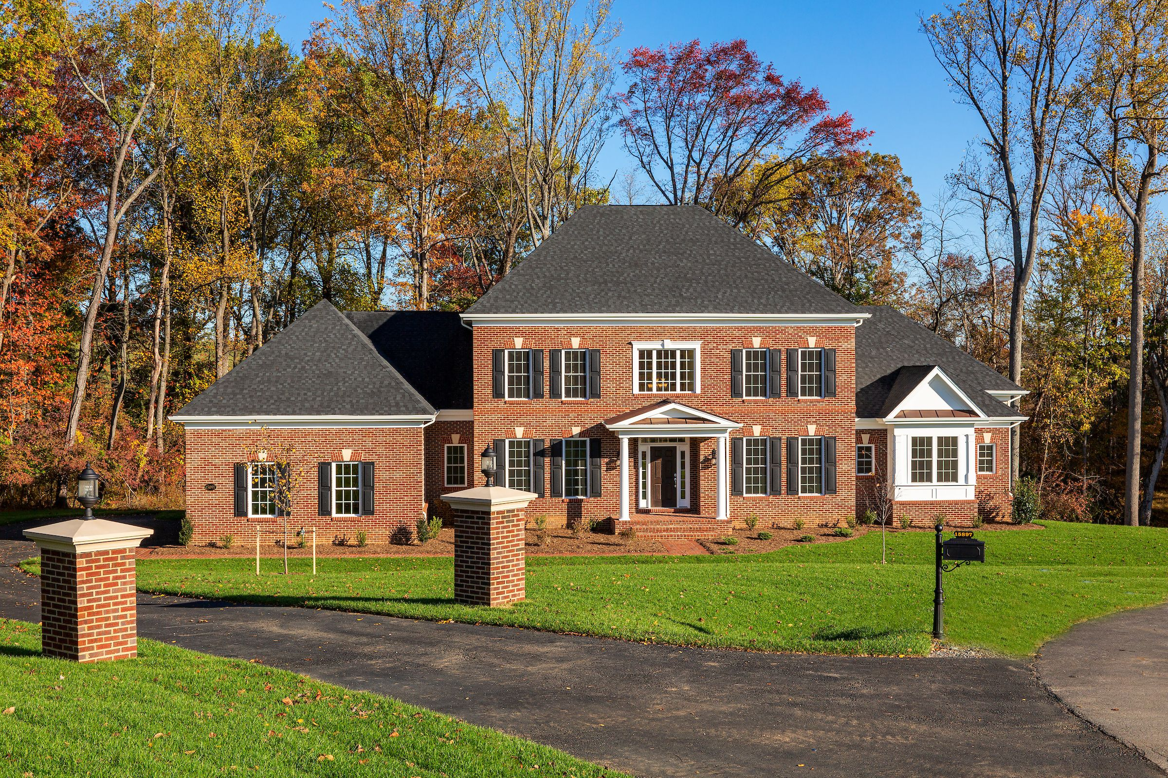 Exterior featured in The Pinehurst By CarrHomes in Washington, VA