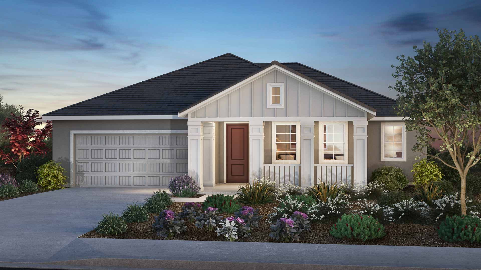 Exterior featured in the Residence 1 By Carson Homes in Vallejo-Napa, CA