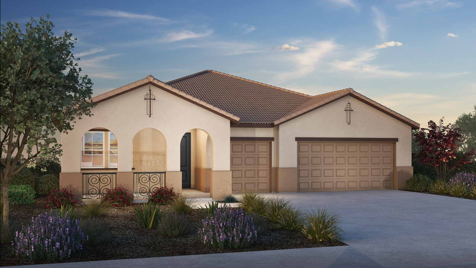 Exterior featured in the Residence 2 By Carson Homes in Vallejo-Napa, CA