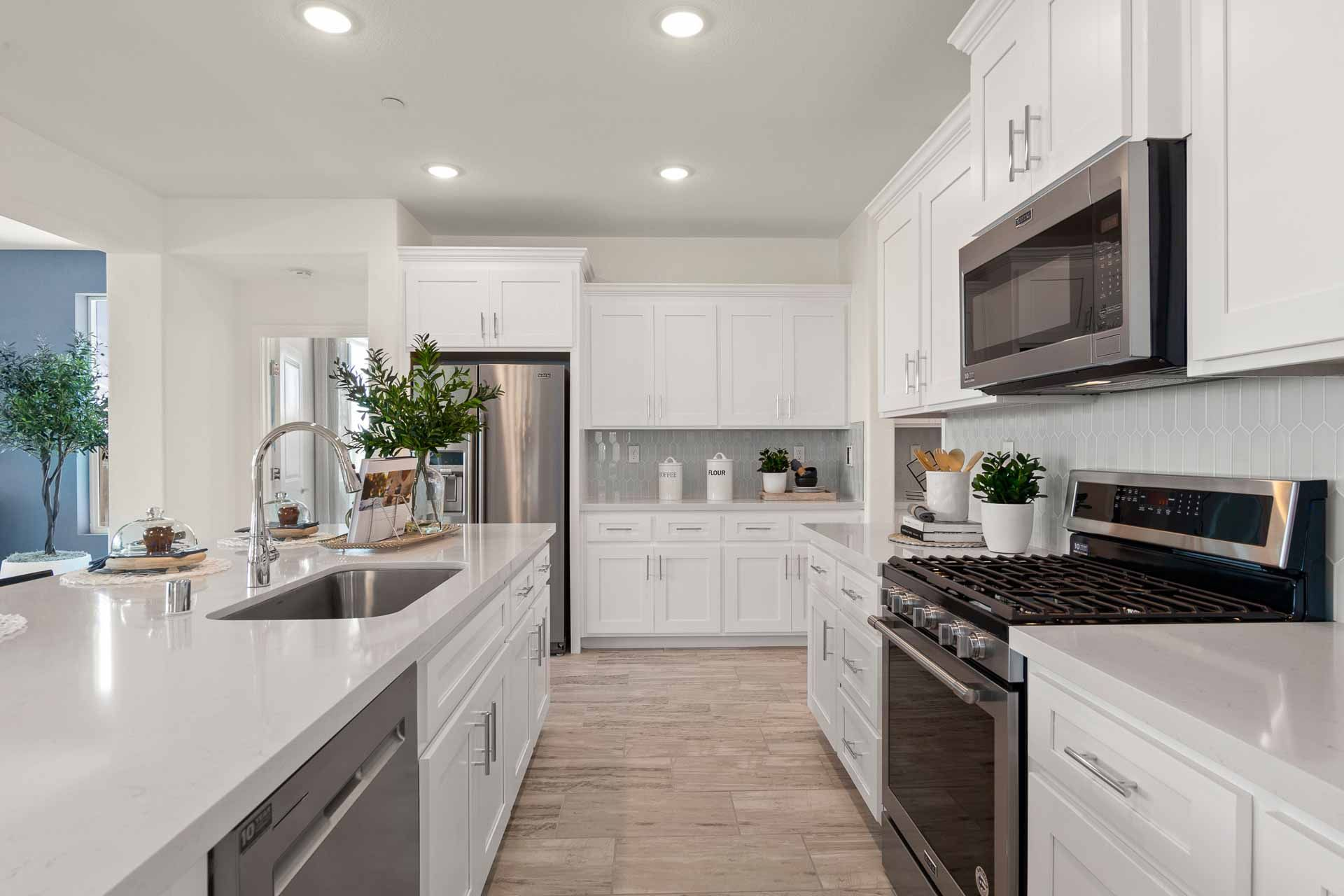 Kitchen featured in the Residence 2 By Carson Homes in Vallejo-Napa, CA