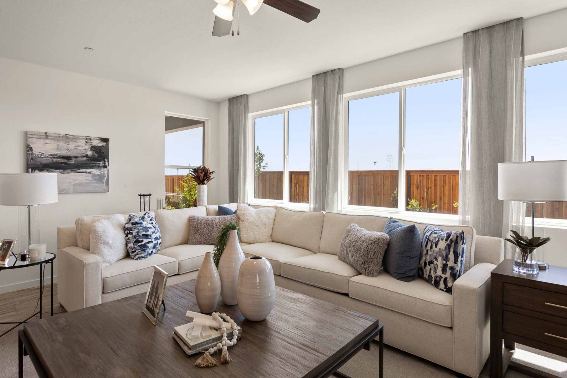 Living Area featured in the Residence 2 By Carson Homes in Vallejo-Napa, CA