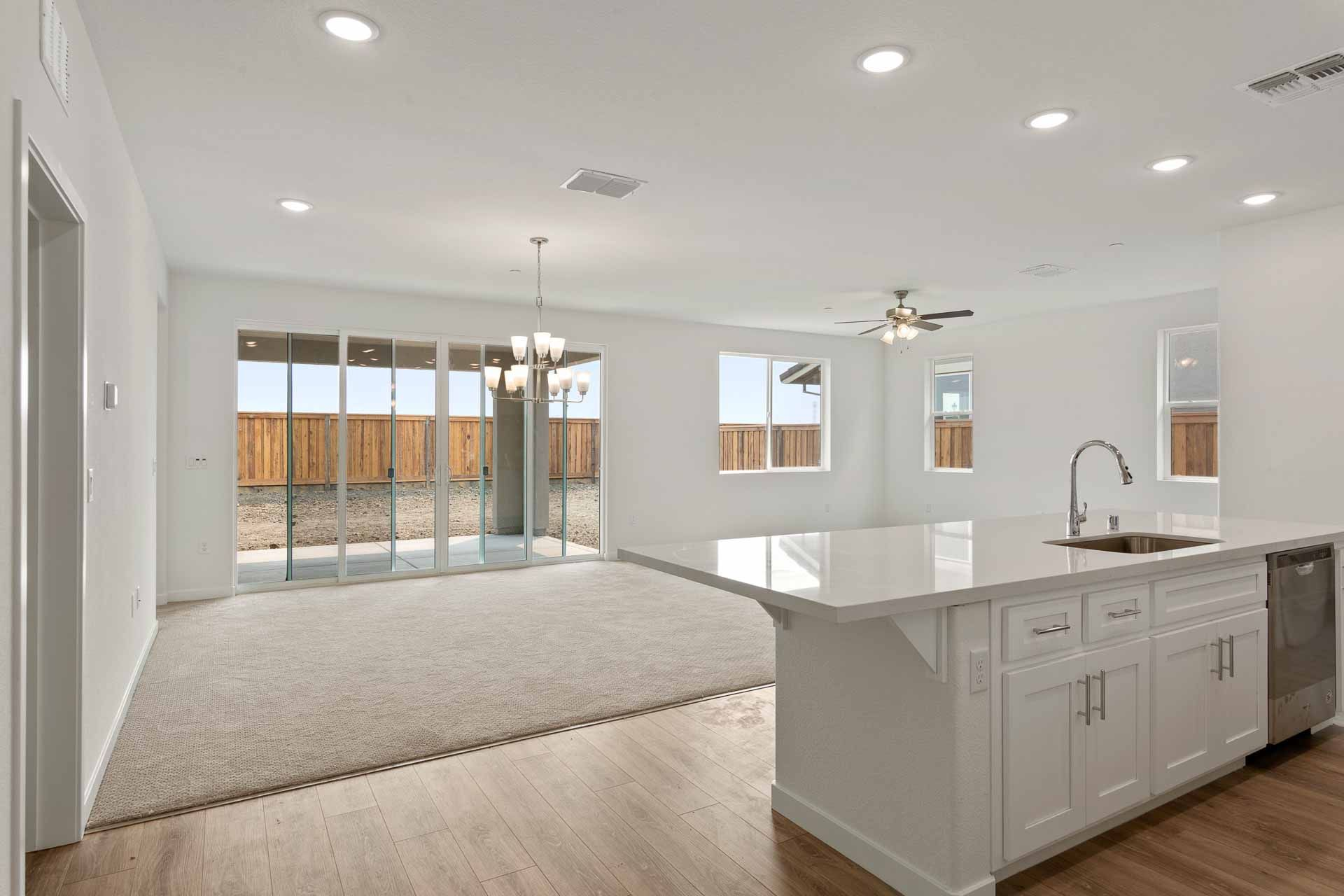 Kitchen featured in the Residence 1 By Carson Homes in Vallejo-Napa, CA