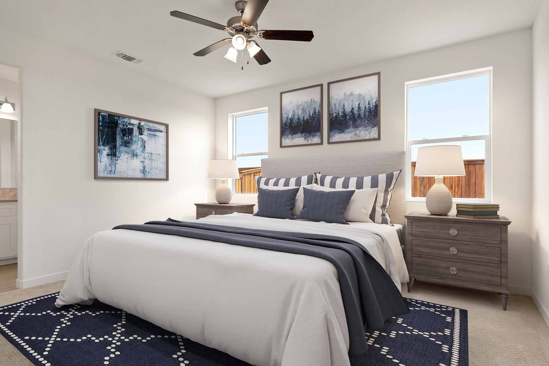 Bedroom featured in the Residence 1 By Carson Homes in Vallejo-Napa, CA