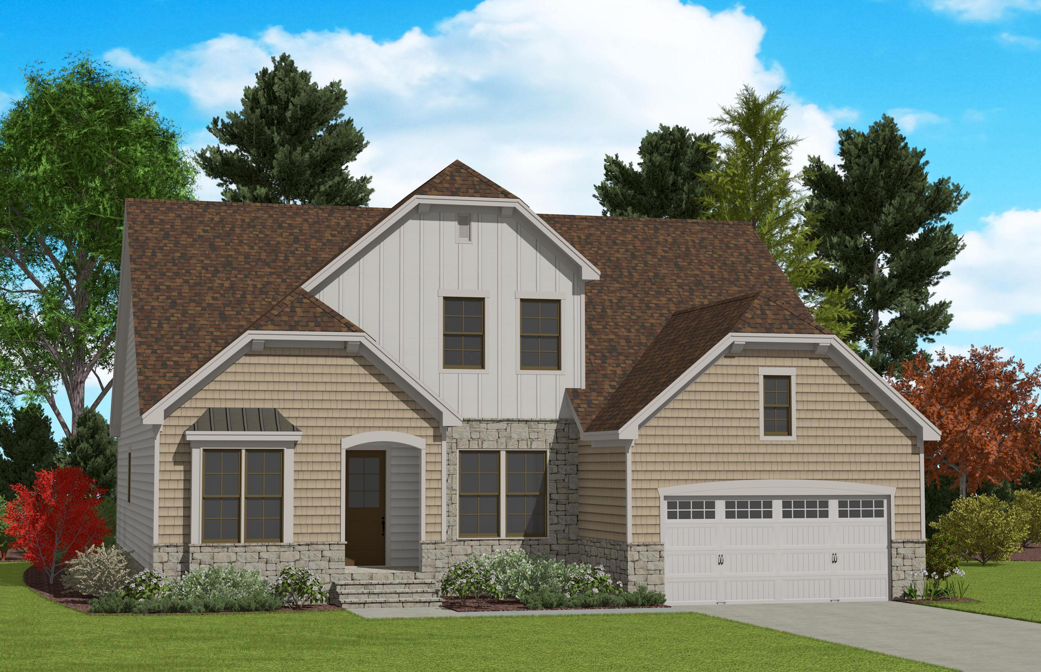 Exterior featured in the Davidson By Caruso Homes in Raleigh-Durham-Chapel Hill, NC