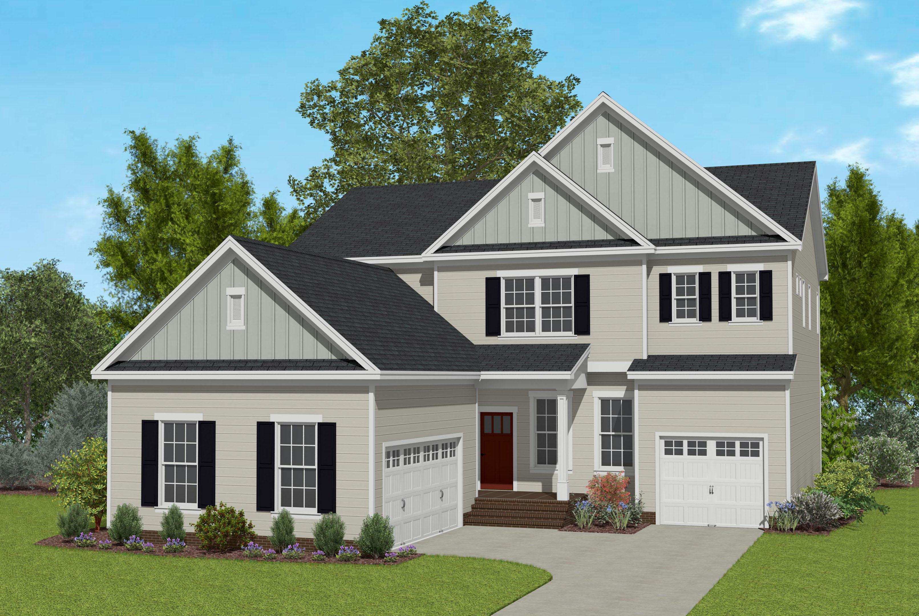 Exterior featured in the Beaufort By Caruso Homes in Raleigh-Durham-Chapel Hill, NC