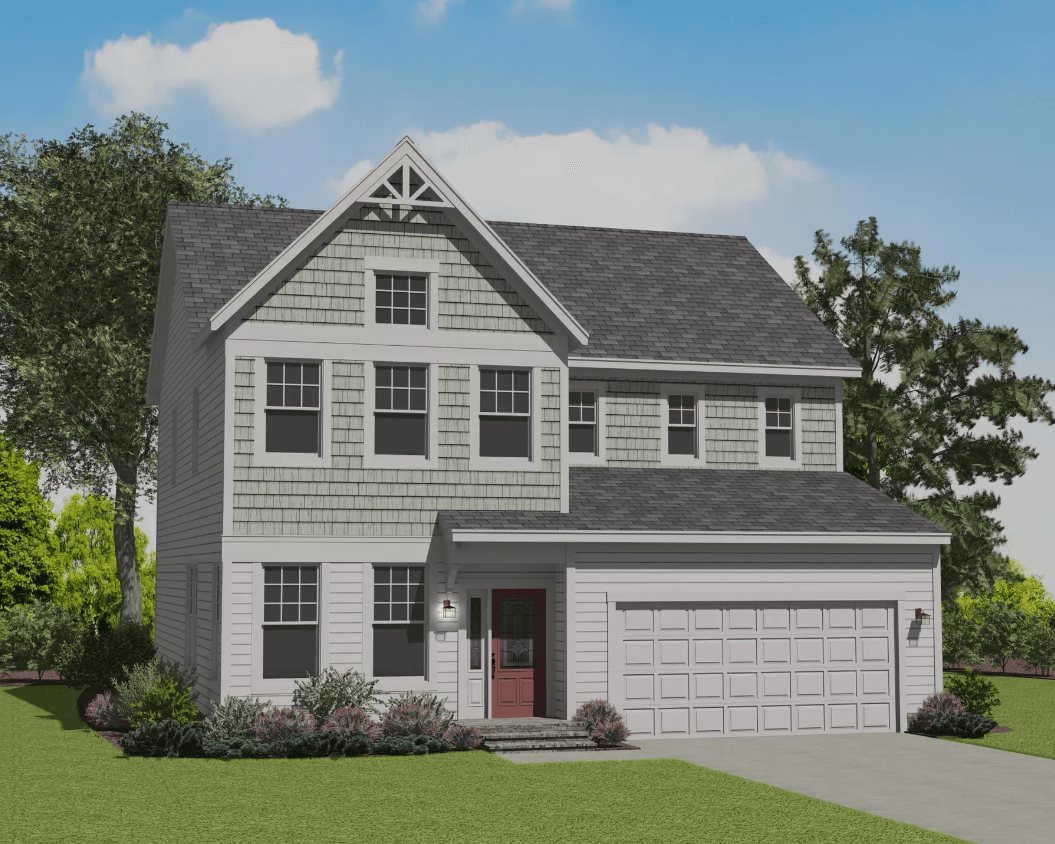 Exterior featured in the Gaston By Caruso Homes in Raleigh-Durham-Chapel Hill, NC