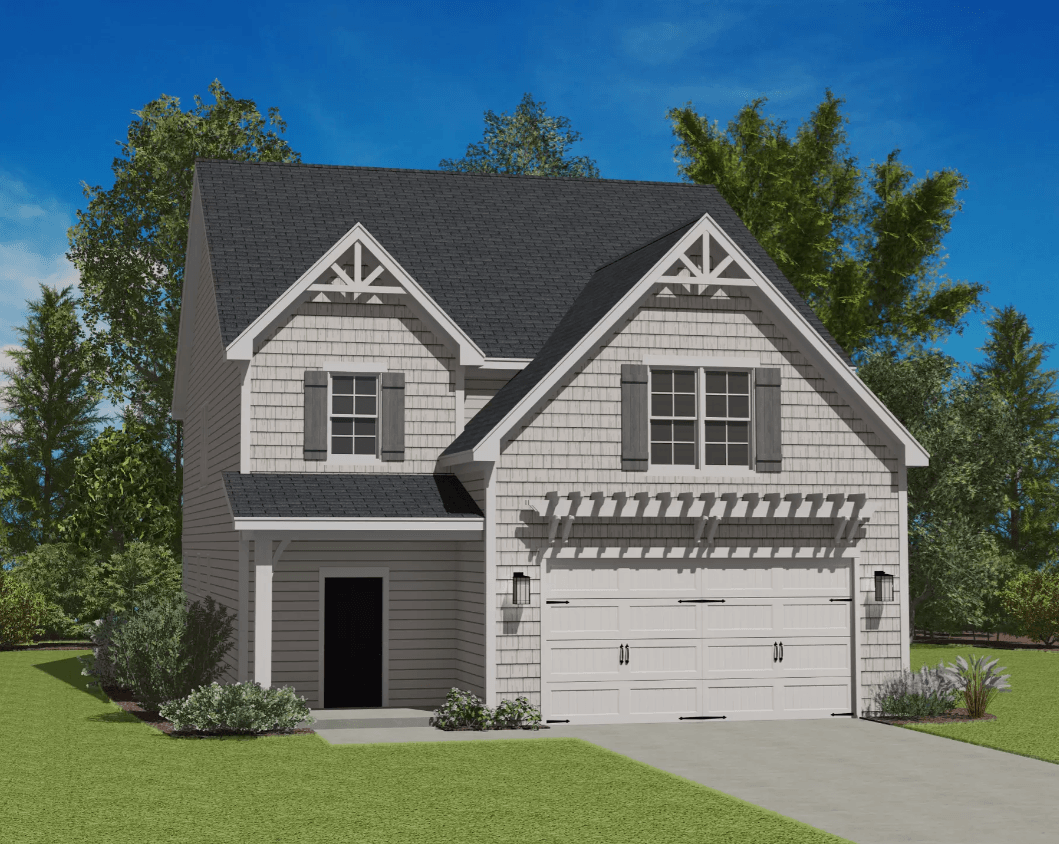 Exterior featured in the Norman By Caruso Homes in Raleigh-Durham-Chapel Hill, NC