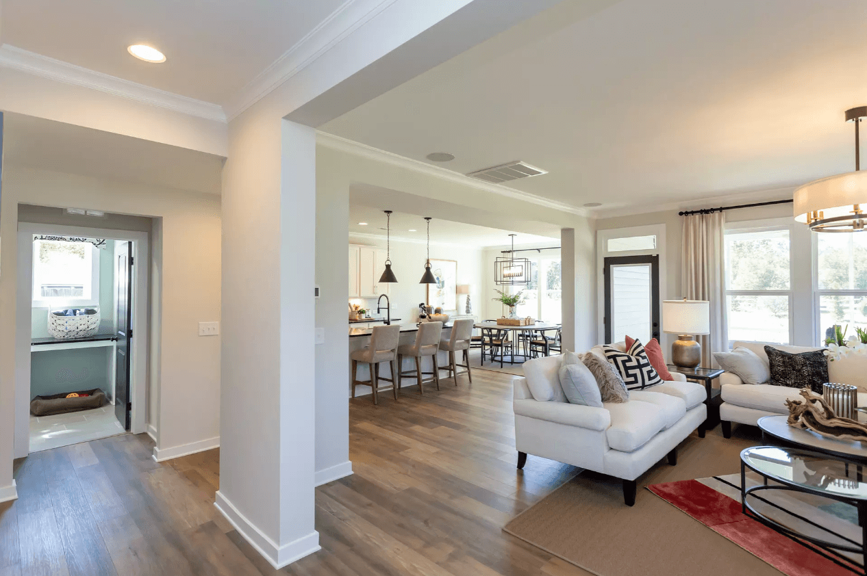 Living Area featured in the Norman By Caruso Homes in Raleigh-Durham-Chapel Hill, NC