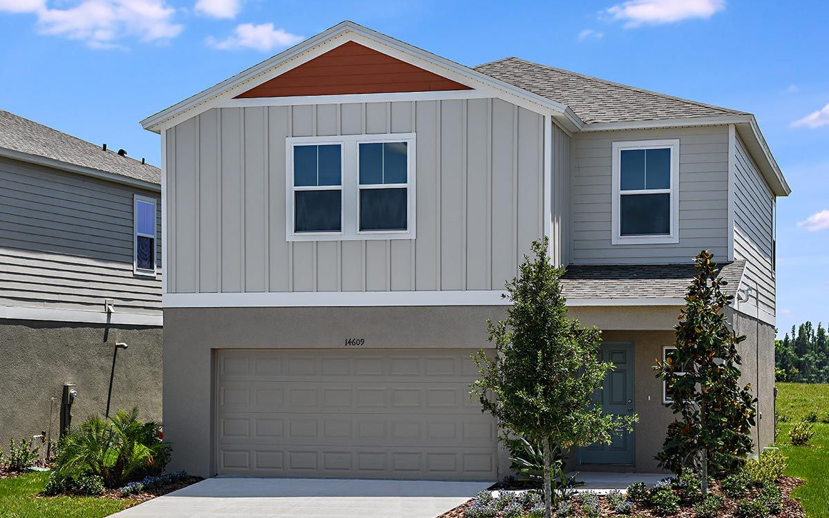 Exterior featured in the Turquesa By Casa Fresca Homes in Tampa-St. Petersburg, FL