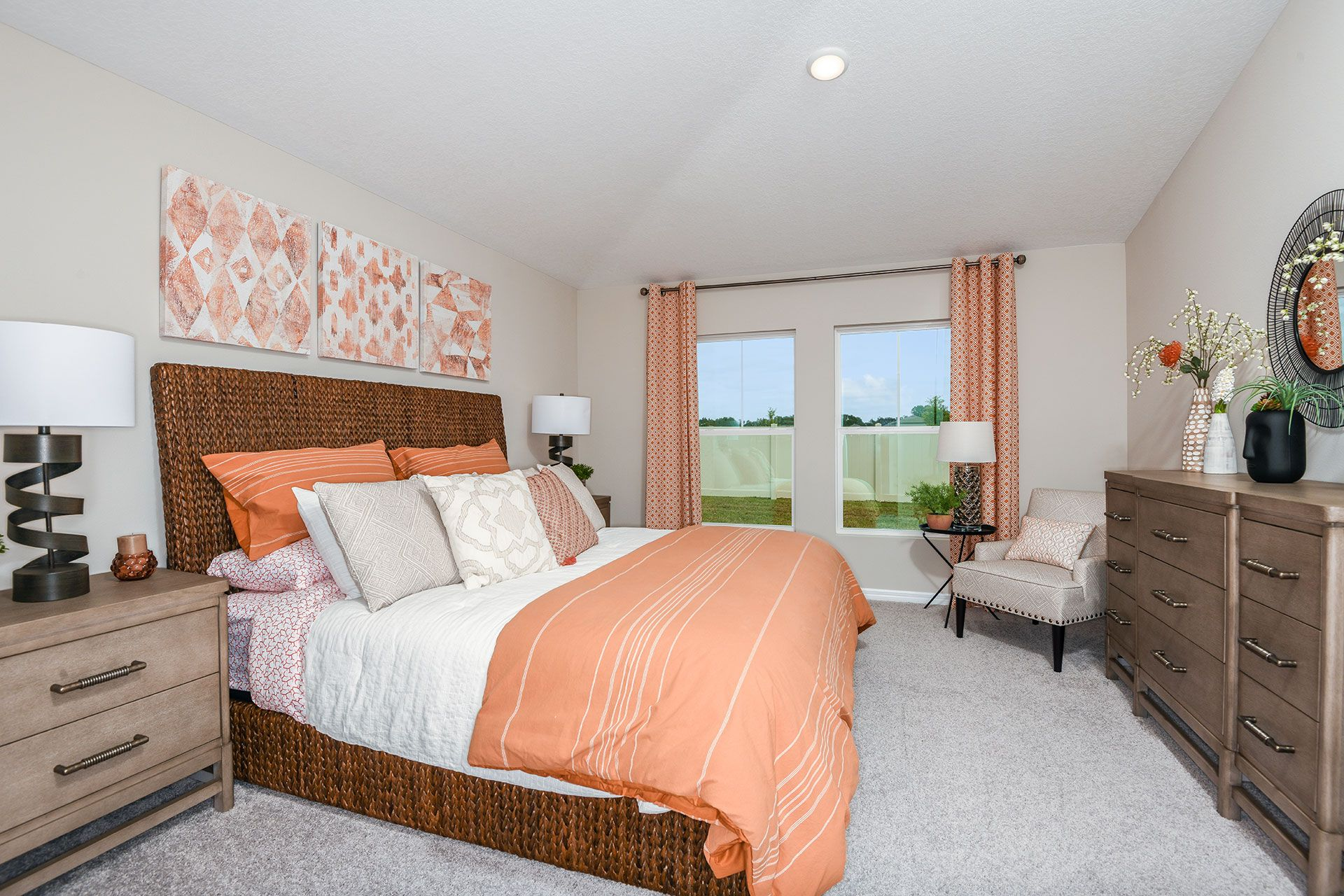 Bedroom featured in the Valeria By Casa Fresca Homes in Lakeland-Winter Haven, FL