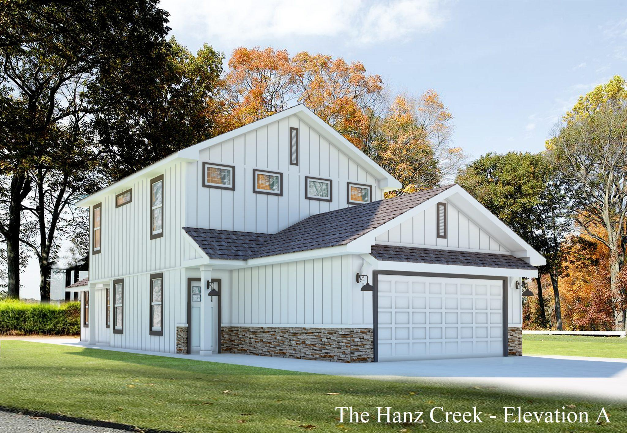 Exterior featured in the Hanz Creek By Casina Creek Homes, LLC in San Antonio, TX