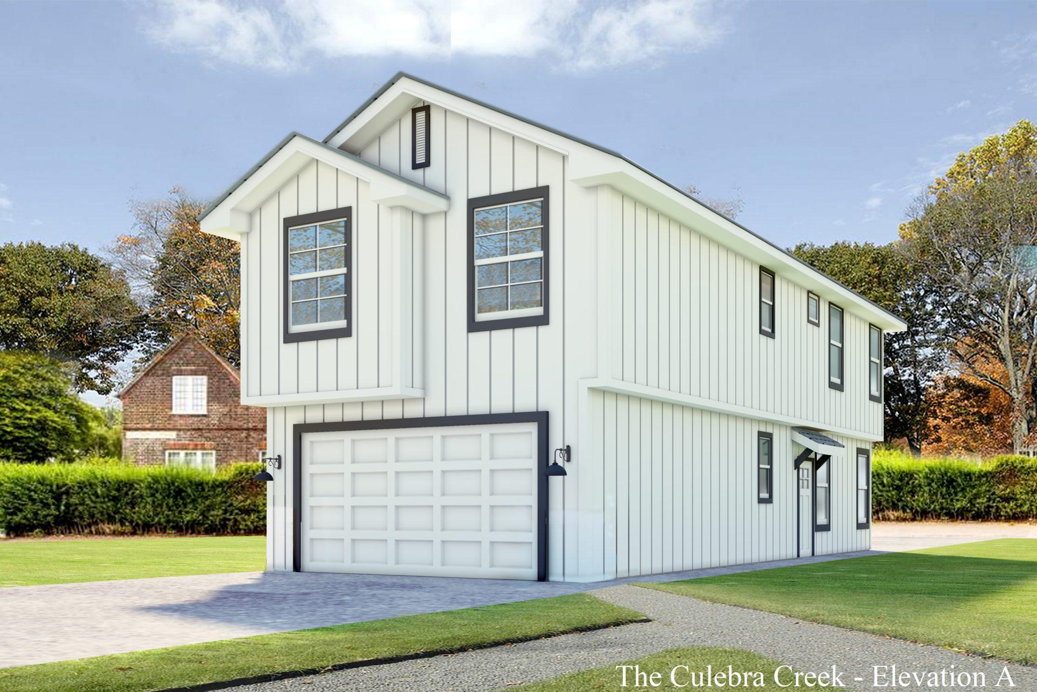 Exterior featured in the Culebra Creek By Casina Creek Homes, LLC in San Antonio, TX