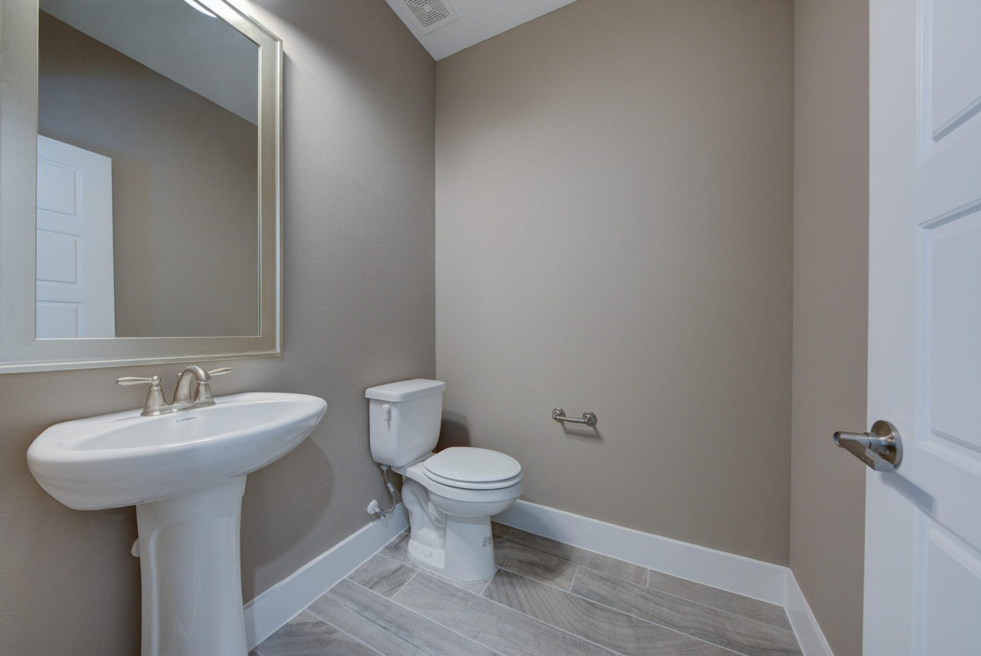 Bathroom featured in the Leon Creek By Casina Creek Homes, LLC in San Antonio, TX