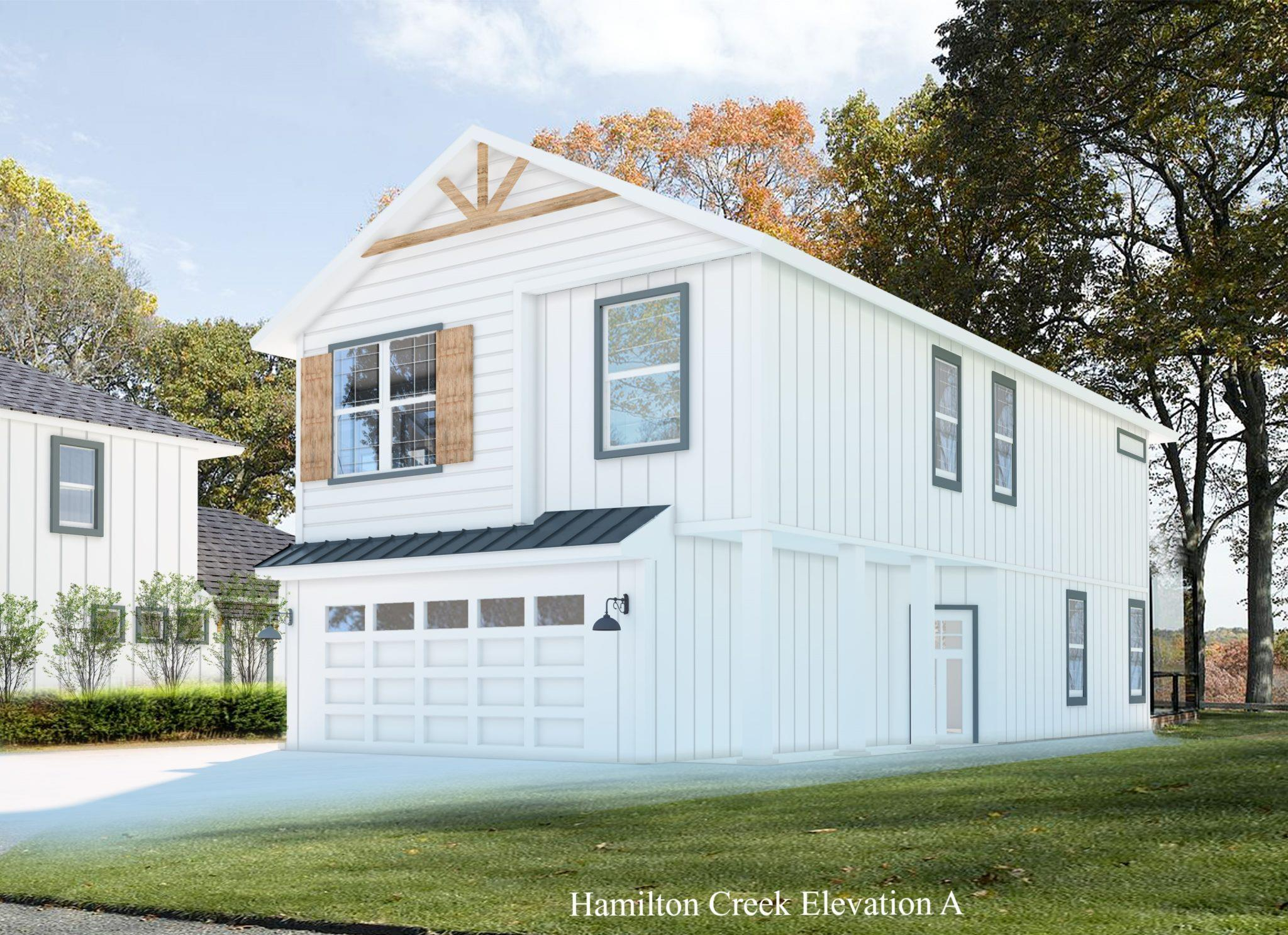 Exterior featured in the Hamilton Creek By Casina Creek Homes, LLC in San Antonio, TX
