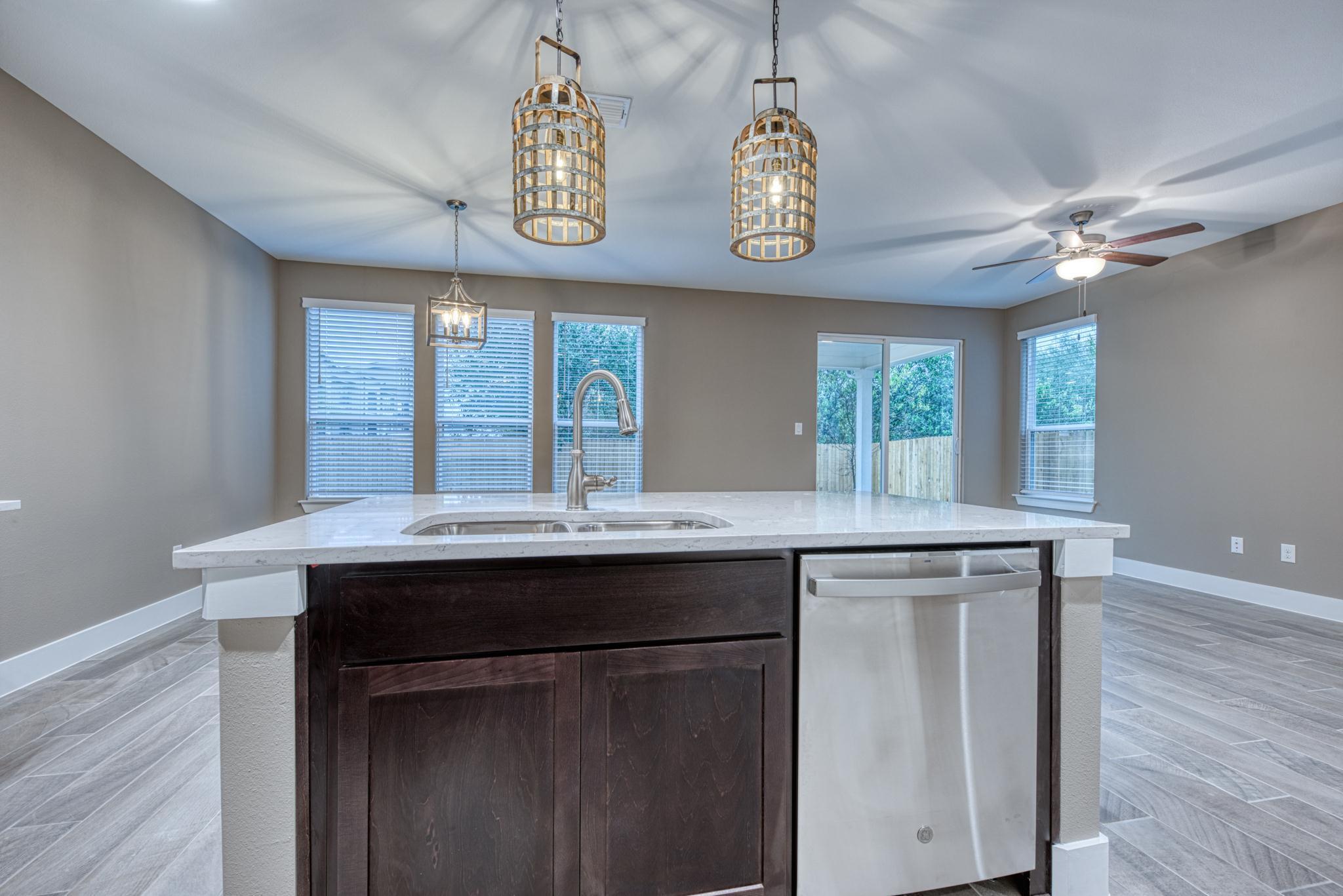 Kitchen featured in the Hamilton Creek By Casina Creek Homes, LLC in San Antonio, TX