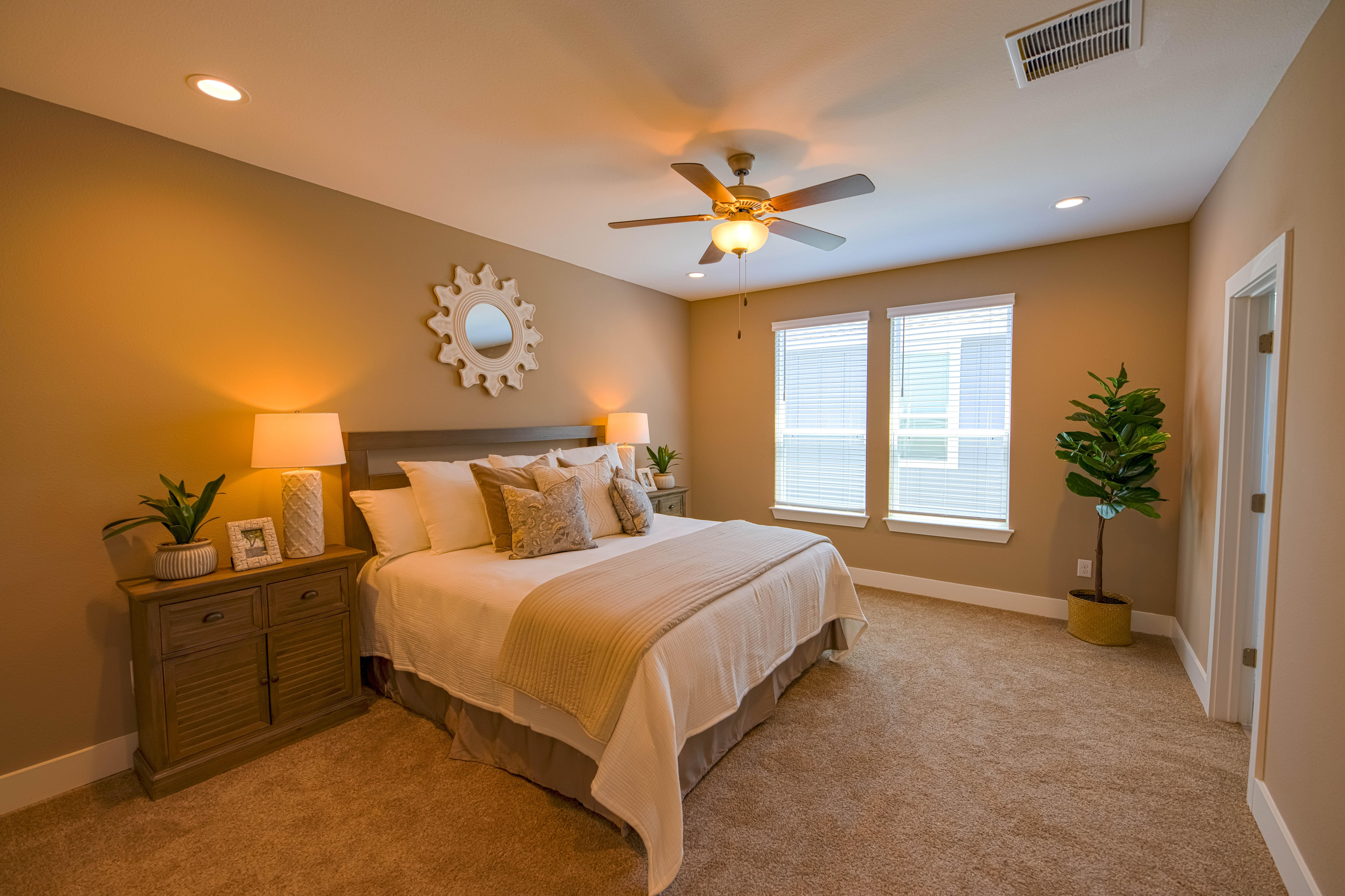 Bedroom featured in the Cibolo Creek Townhome By Casina Creek Homes, LLC in San Antonio, TX