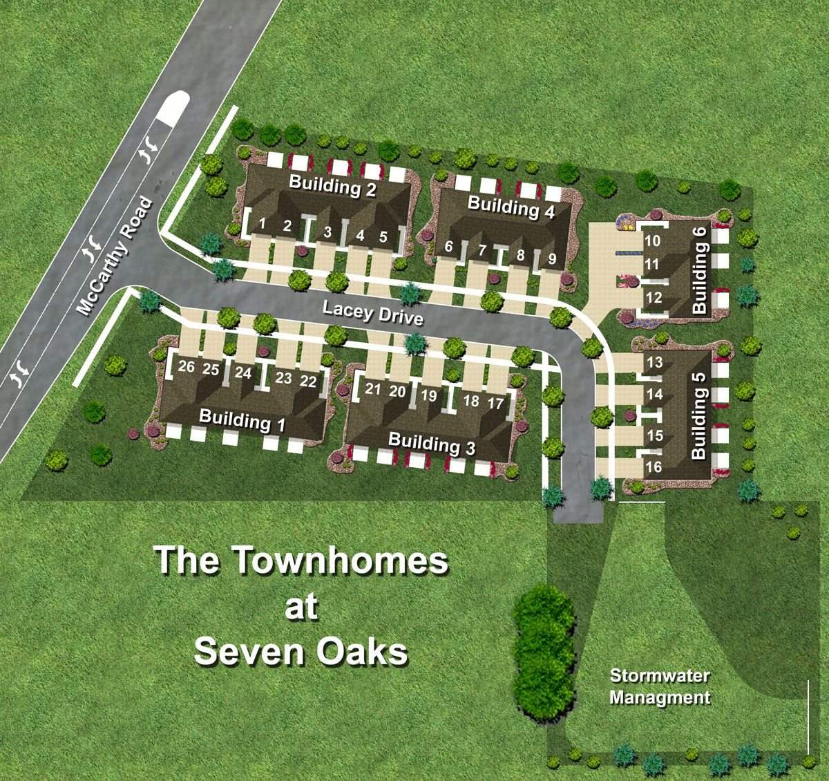 'Townhomes at Seven Oaks' by Castletown Homes in Chicago