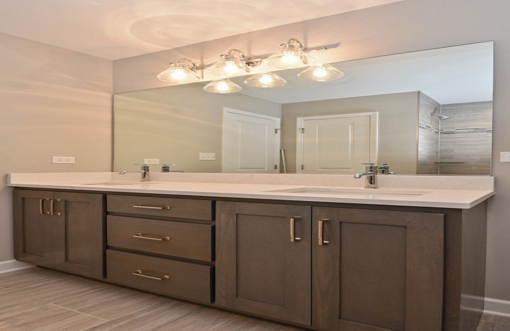 Bathroom featured in the Two Story Townhomes By Castletown Homes in Chicago, IL