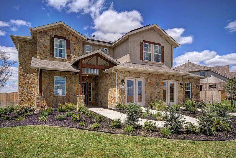 Evergreen fairways in baytown tx by castlerock communities for Modern homes for sale in texas