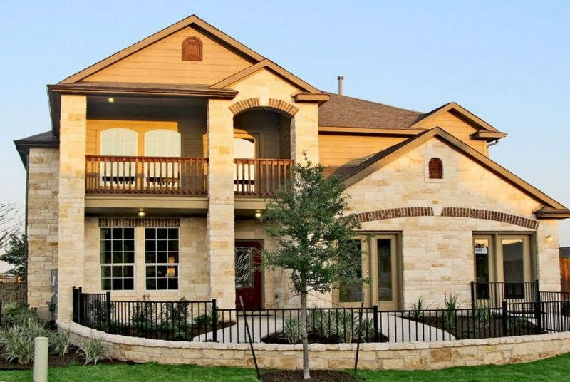 Blanco vista in san marcos tx by castlerock communities for Castle rock house