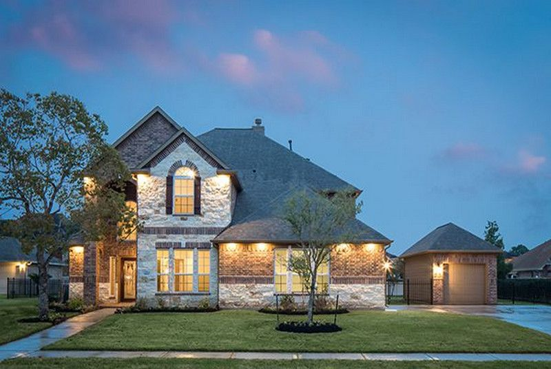 Ranch at brushy creek model homes