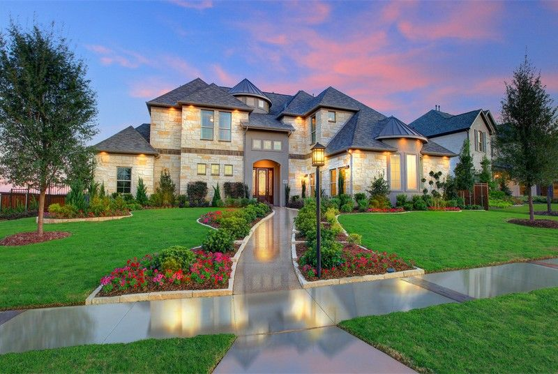 Inspiration in wylie tx by castlerock communities for Texas fine home builders
