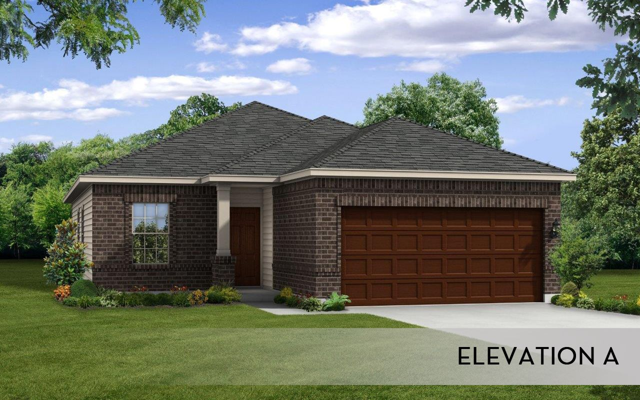 Comal cobalt home plan by castlerock communities in forest for Castle rock house
