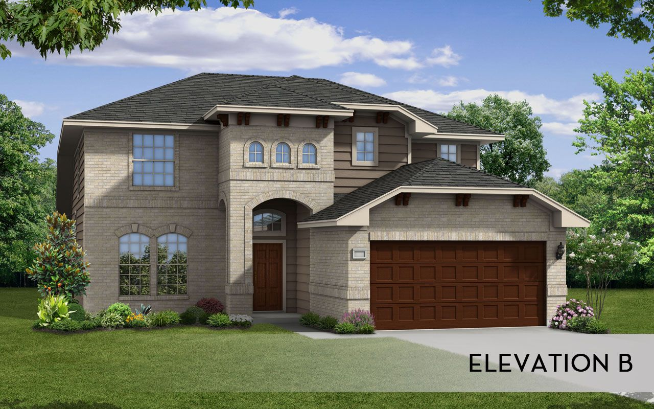 Ouray silver home plan by castlerock communities in goose for By design home care san antonio