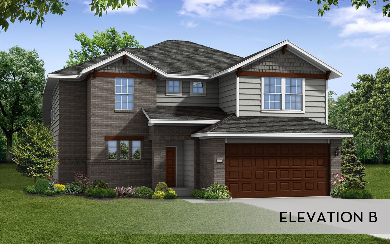San marcos silver home plan by castlerock communities in for By design home care san antonio