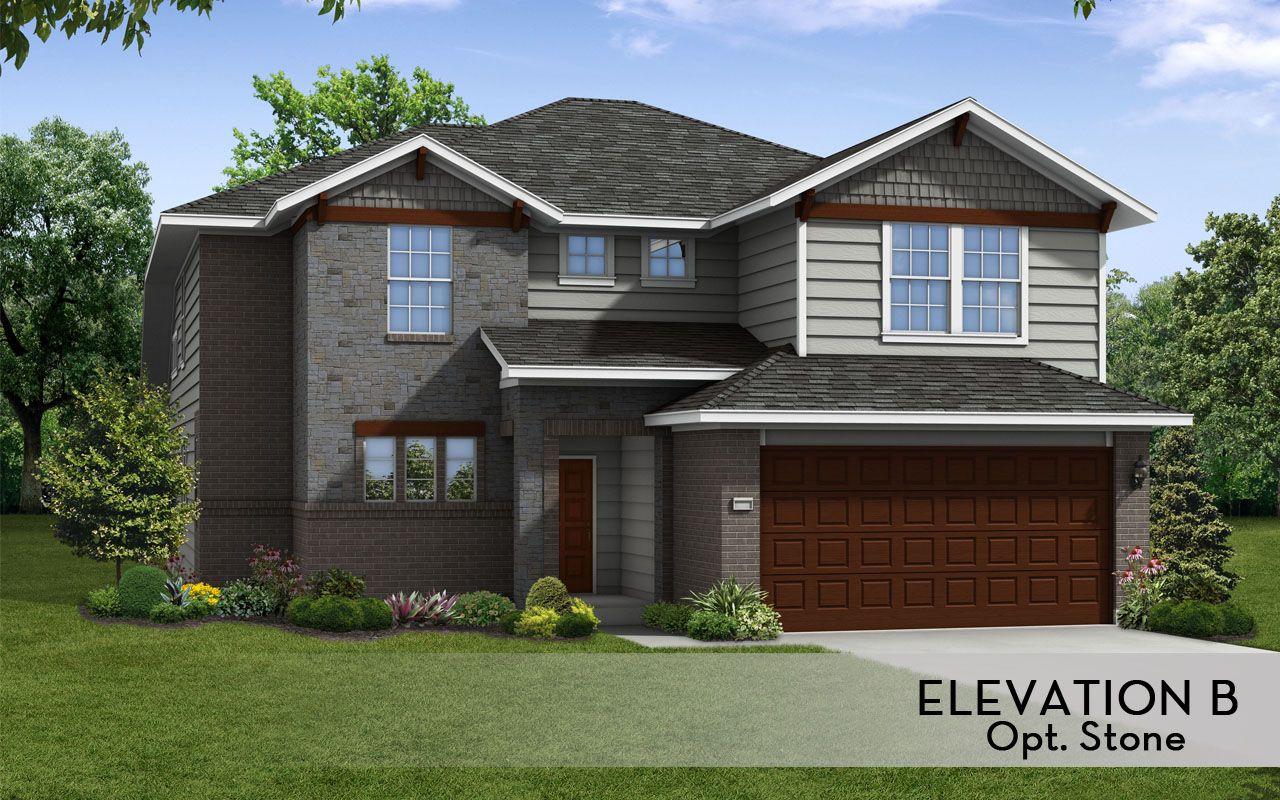 San Marcos Silver Home Plan By Castlerock Communities In
