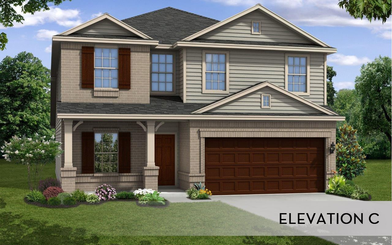 Trinity cobalt home plan by castlerock communities in for Trinity home builders